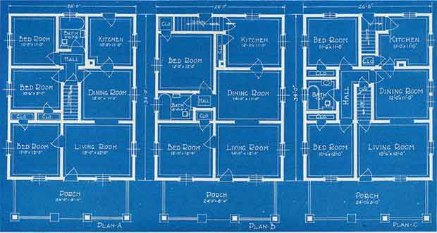take a look through the site and if you currently live in a vintage home see if you can find your house plan