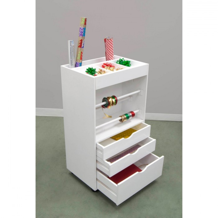 Gift Wrap Organizer Toolbox