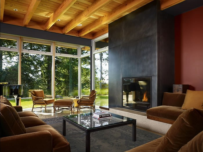 DeForest Architect living room