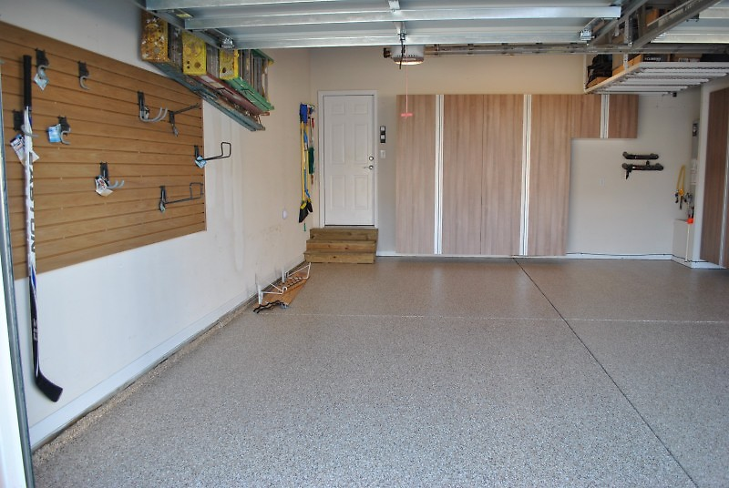 Before Garage Contractor After
