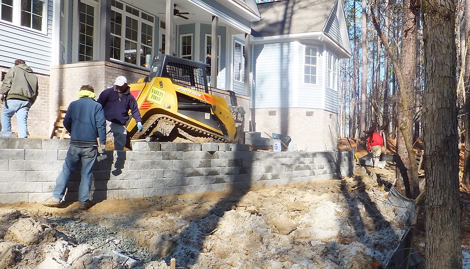 retaining wall permits