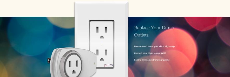 Plum smart plugs