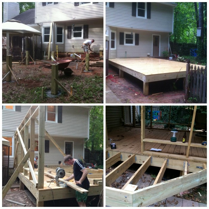 project renovation diy screened in porch addition porch. Black Bedroom Furniture Sets. Home Design Ideas
