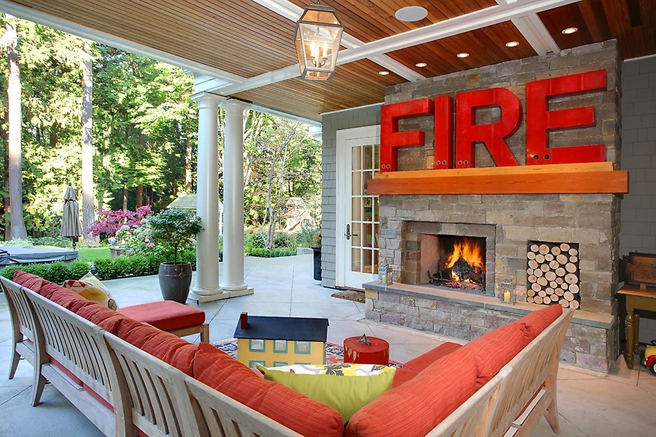 8 tips for making your home a staycation paradise porch for Cost of outdoor living space