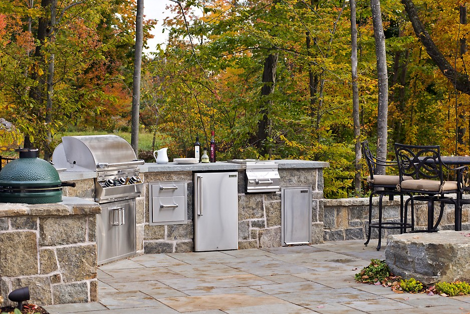 Charming Witt Construction Outdoor Kitchen