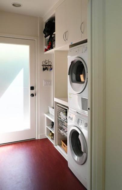 Klopf Architecture laundry room