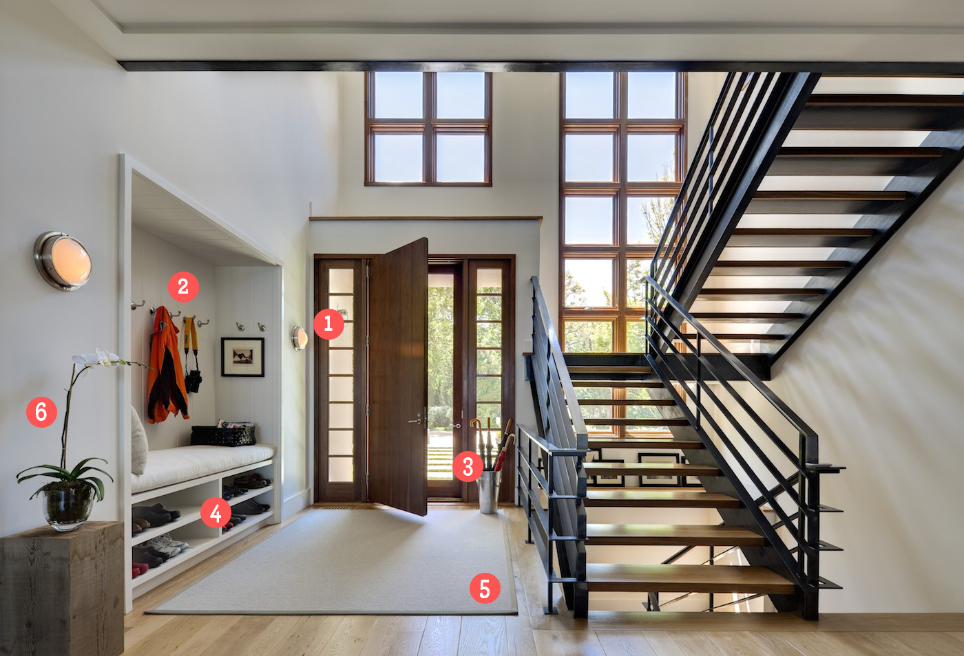 6 ways to design an entryway that works - porch advice