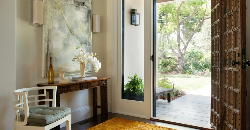 Foyer Rug Rules : Rules of thumb for decorating the entryway