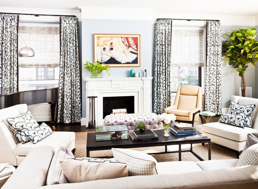 modern meets luxury in these nyc living rooms porch advice. Black Bedroom Furniture Sets. Home Design Ideas