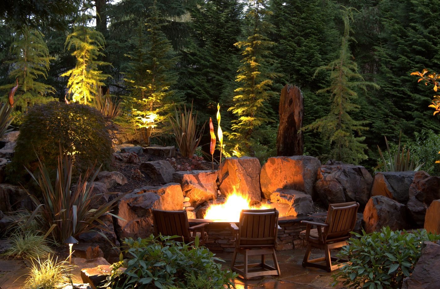 15 Fire Pit Ideas To Keep You Cozy Year Round on Garden Ideas With Fire Pit id=35461