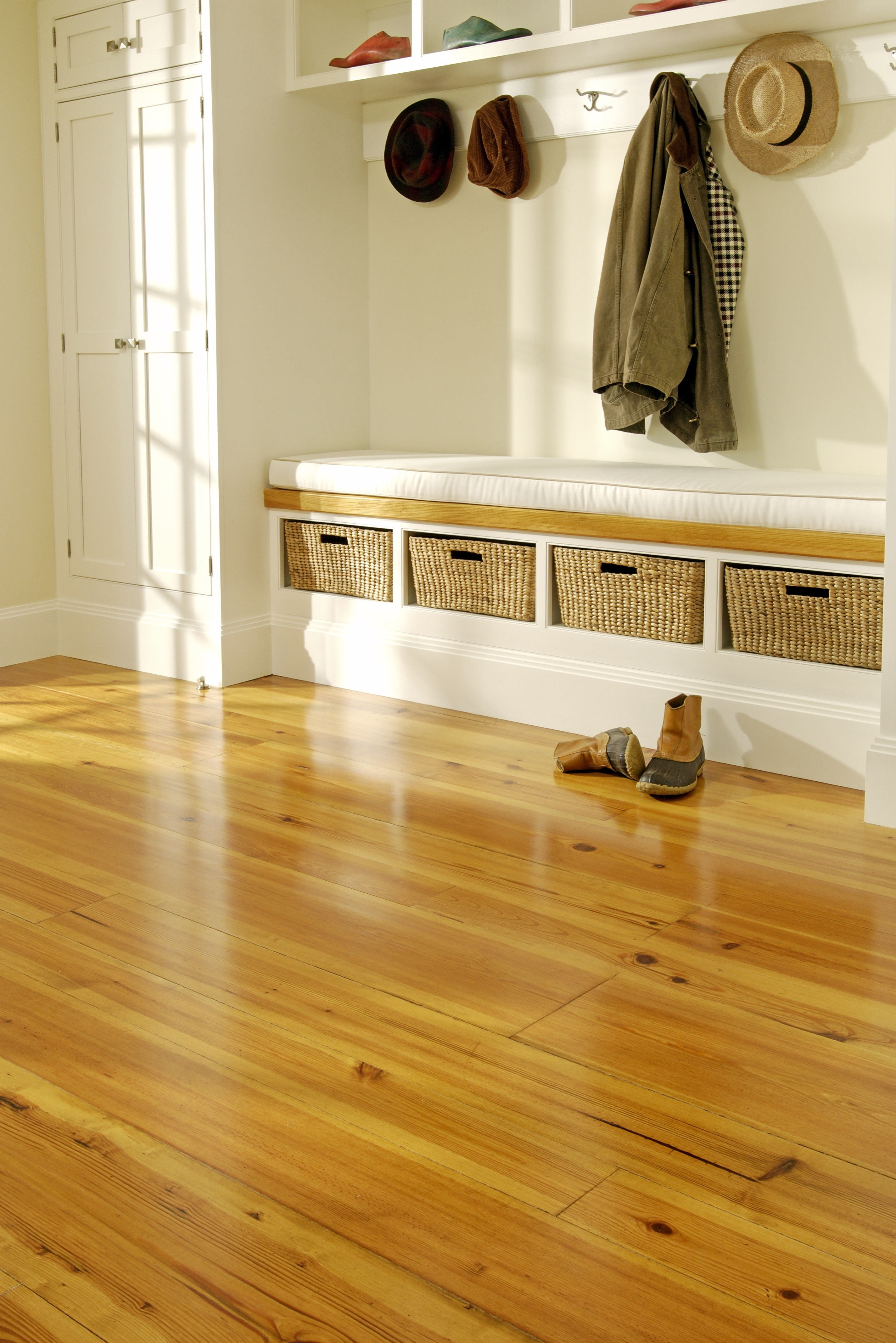 Carlisle Wide Plank Floors - Mudroom