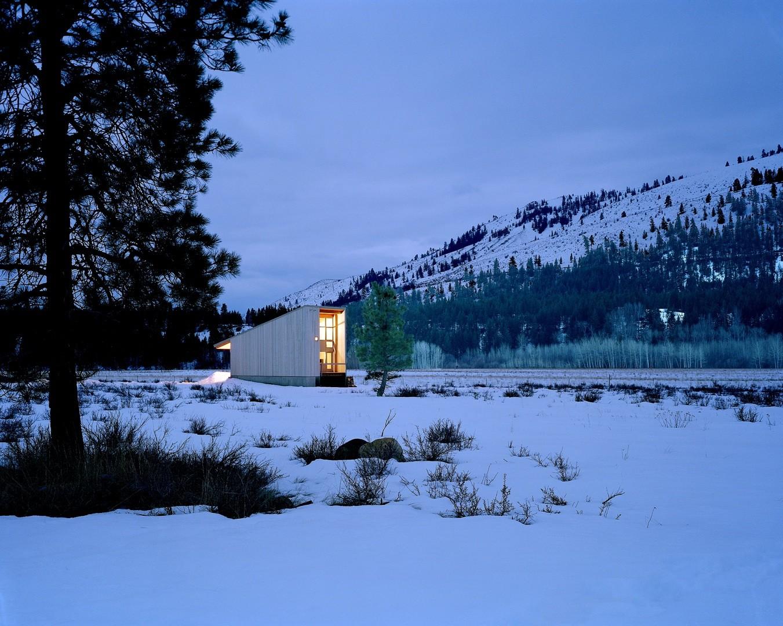 Eggelston Farkas Architects - Methow Valley Cabin 1