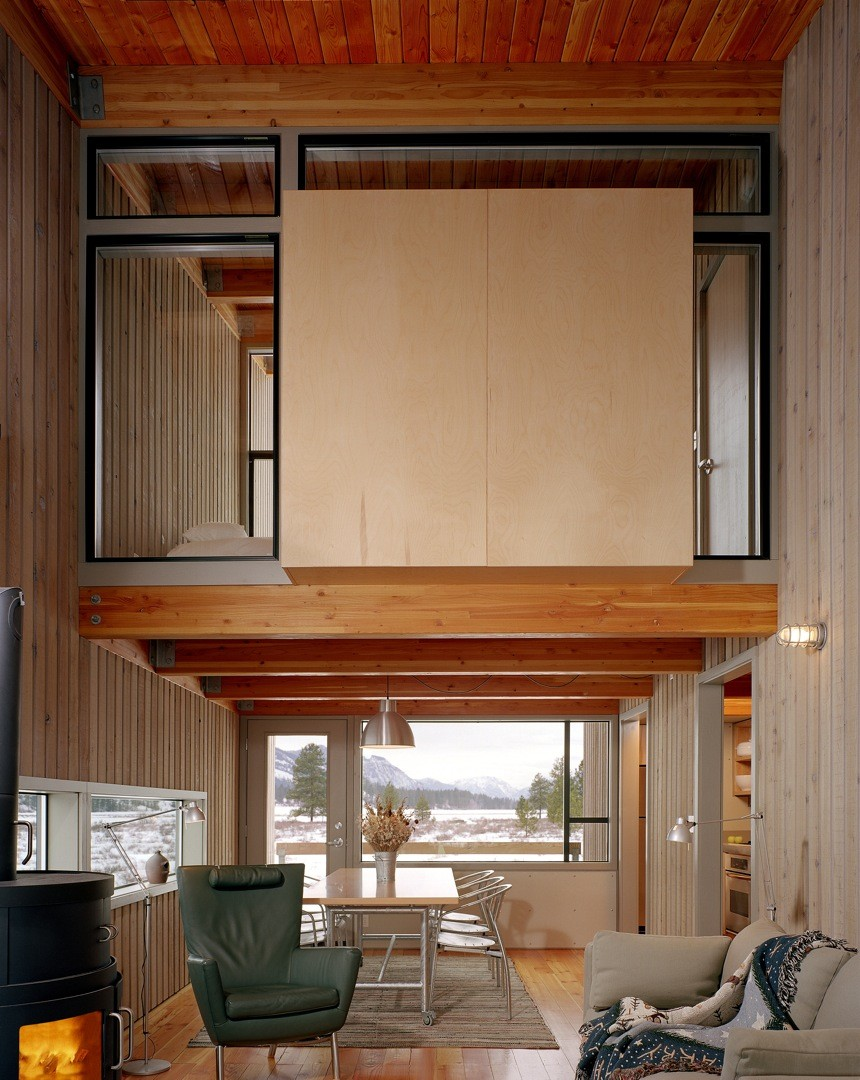 Eggelston Farkas Architects - Methow Valley Cabin 3