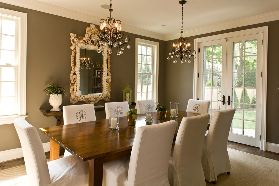 Beautiful Remodels And Decoration Nice Dining Rooms: 1950's Vintage Colonial Home Remodel