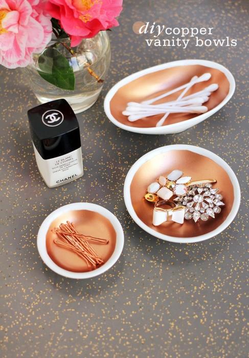 Freutcake - Copper Vanity Bowls