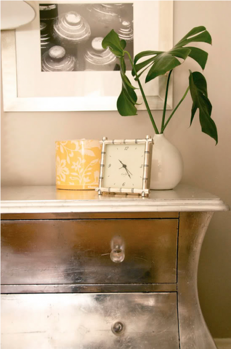 Little Green Notebook - Silver Leaf Dresser