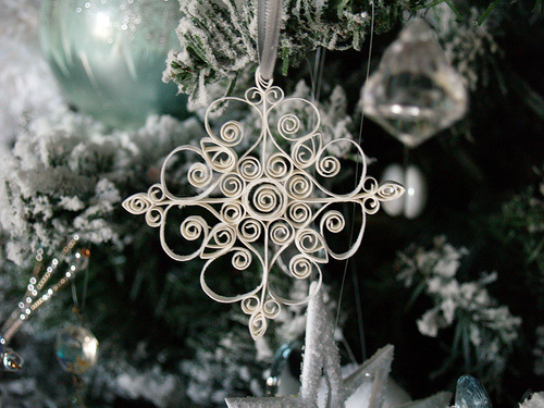 Reese Dixon - Paper Quilled Snowflake Ornament
