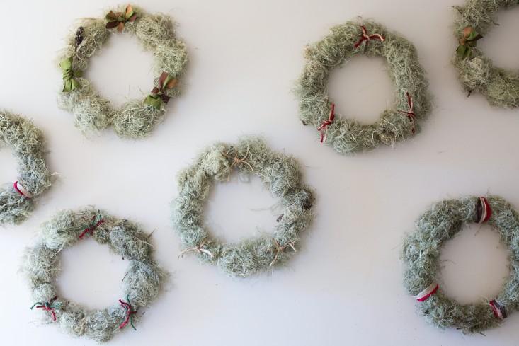Remodelista - Moss Wreath