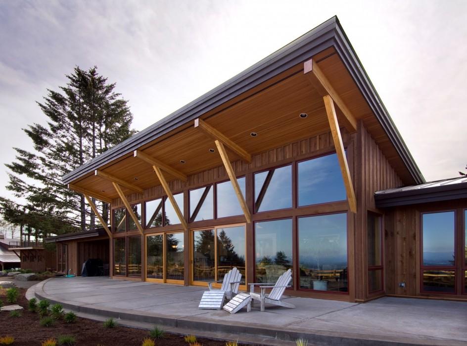 Riverland Homes - Parrett Mountain Cabin 1