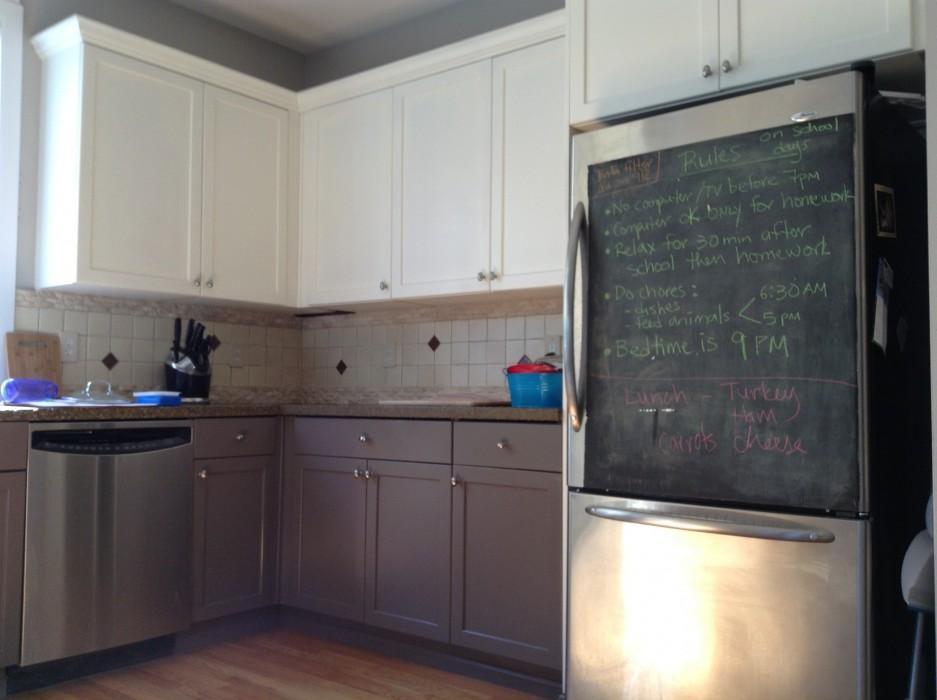 18 walls you should chalkboard paint porch advice. Black Bedroom Furniture Sets. Home Design Ideas