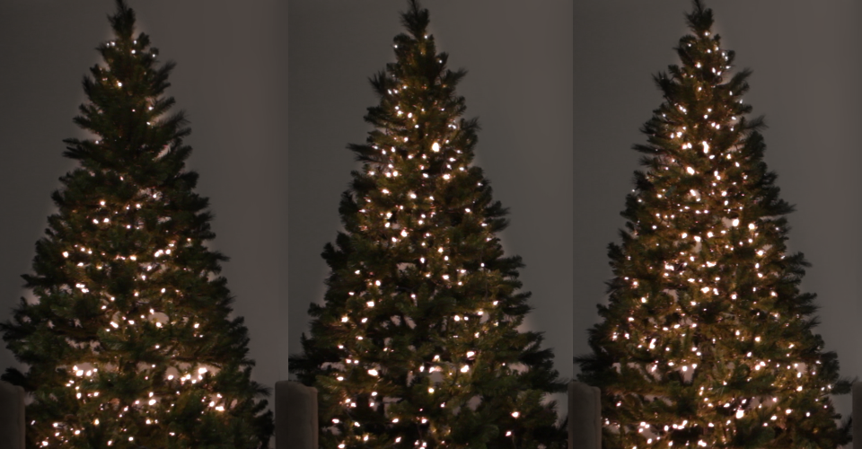 3 ways to light the christmas tree - How To String Lights On A Christmas Tree