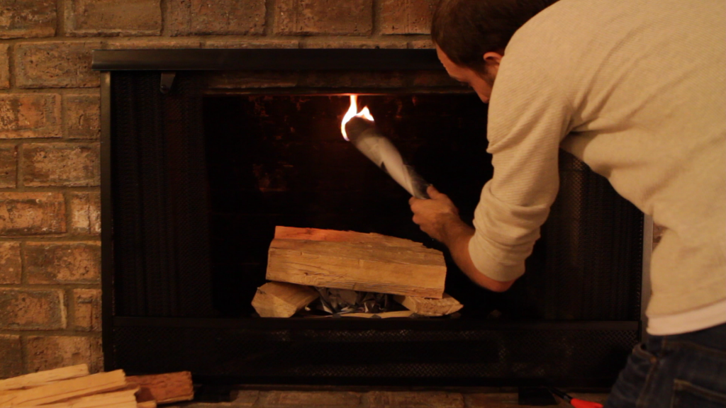 How to Build the Best Fire in 60 Seconds - Porch Advice