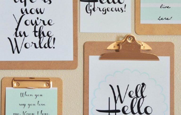 15 Free Wall Art Printables to Start Off the New Year - Porch Advice