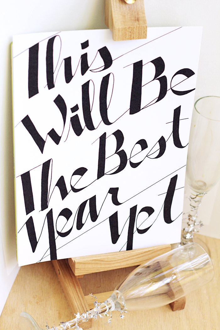 Creating Really Awesome Free Things - Best Year Yet Printable Sign