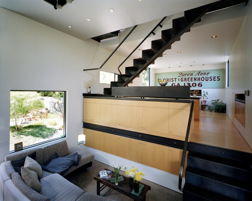 Eggleston Farkas Architects - living room