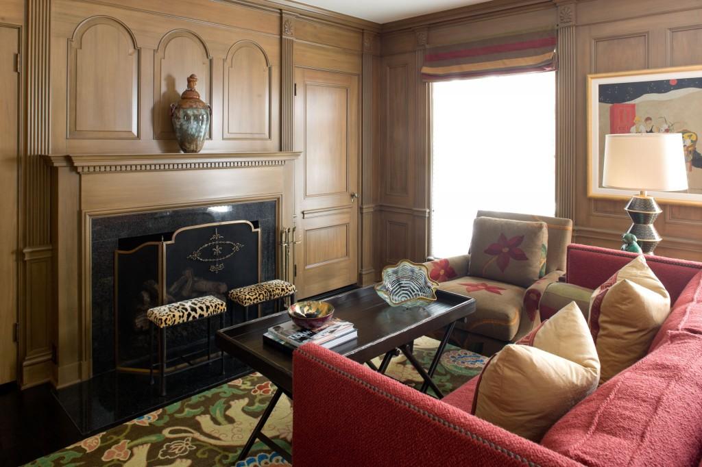Hyde Evans Design - Pattern Living Room