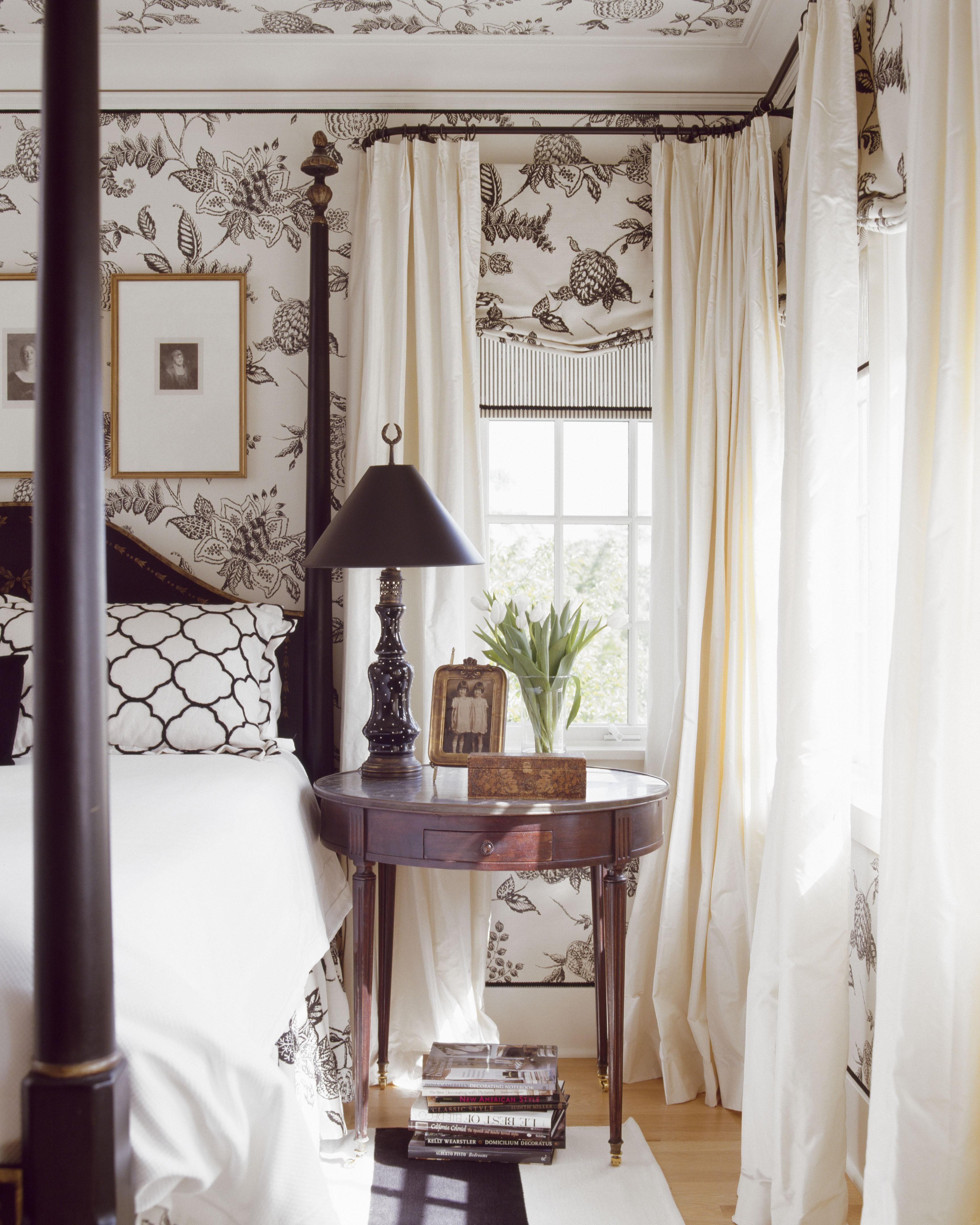 Hyde Evans Design - pattern bedroom