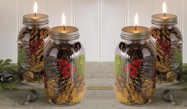 Ms. Dawn - Holiday Scented Mason Jar Candles