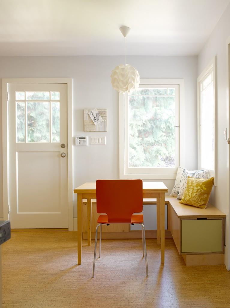 NEST Design Build - back door nook office
