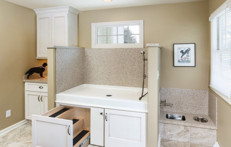 A mud room designed for your dog porch advice for House plans with pet rooms