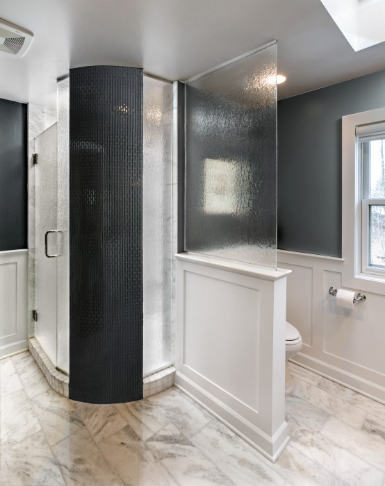 Rain Shower Master Baths