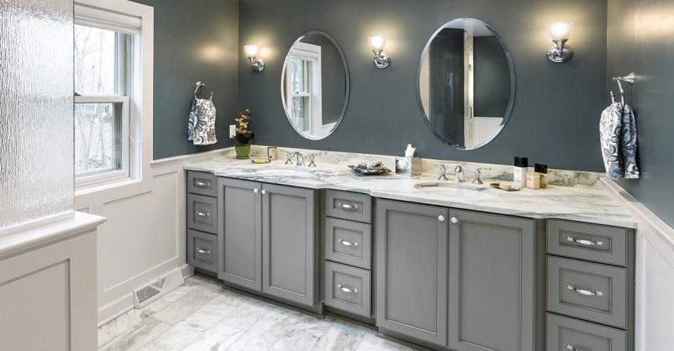 Awesome Timeless Master Bathroom Remodel Interior Design Ideas Helimdqseriescom