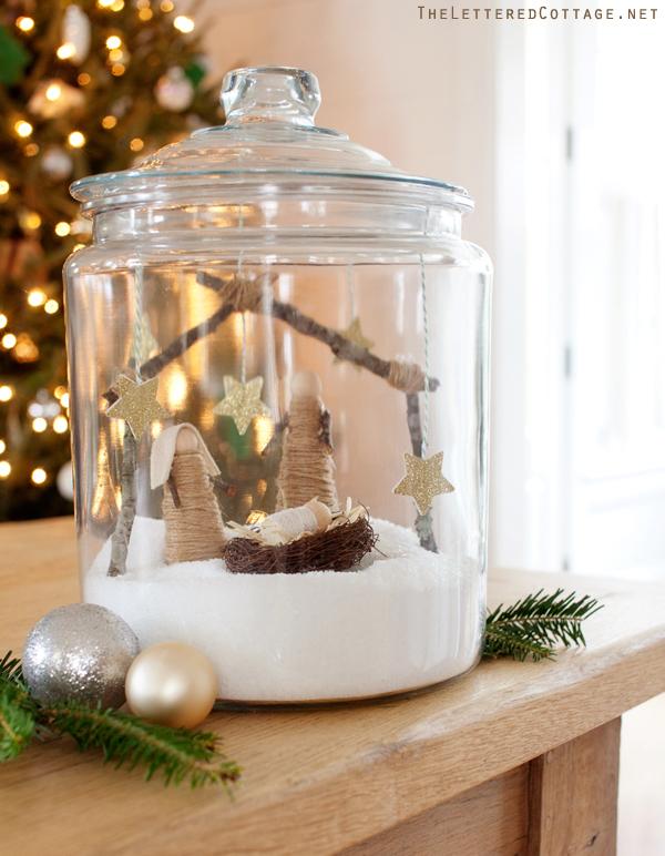 The Lettered Cottage - Nativity Terrarium