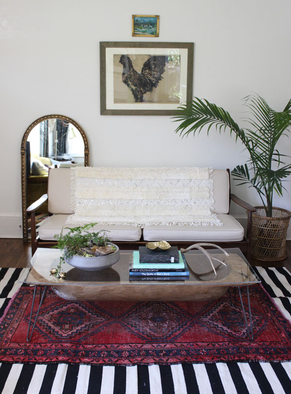 White Buffalo Trading Co. via East Coast Creative - DIY Moroccan Wedding Blanket