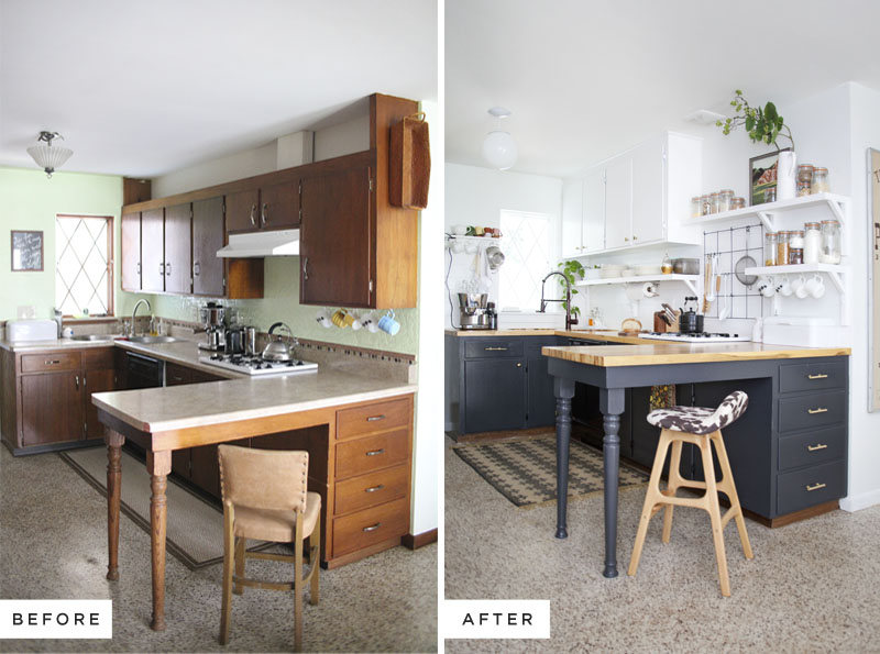 Top 10 Before After Kitchen Projects