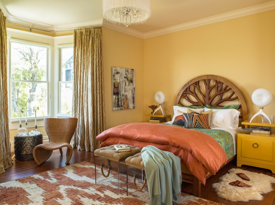 Adeeni Design Group Bedroom. A Pantone Spring 2015 Colored Home   Porch Advice