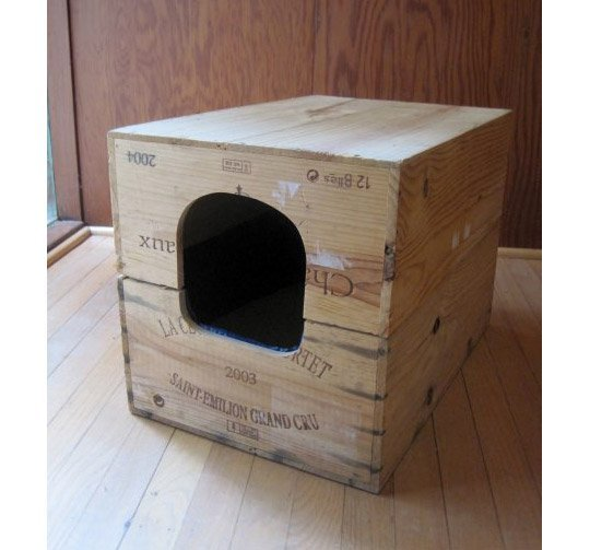 Upcycled Cat Crate