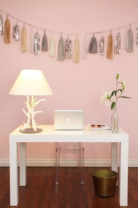 Pale Pink Decor Ideas Bethany Nauert Via Apartment Therapy