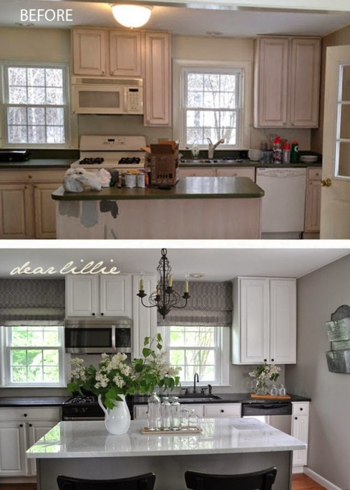 Top 10 Before & After Kitchen Projects Porch Advice