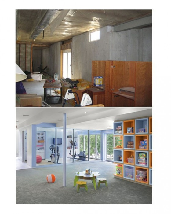 Eisner Design LLC Playroom Before And After ...