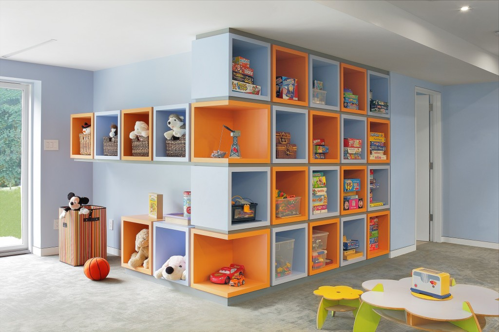 Eisner Design LLC Playroom Before And After Storage