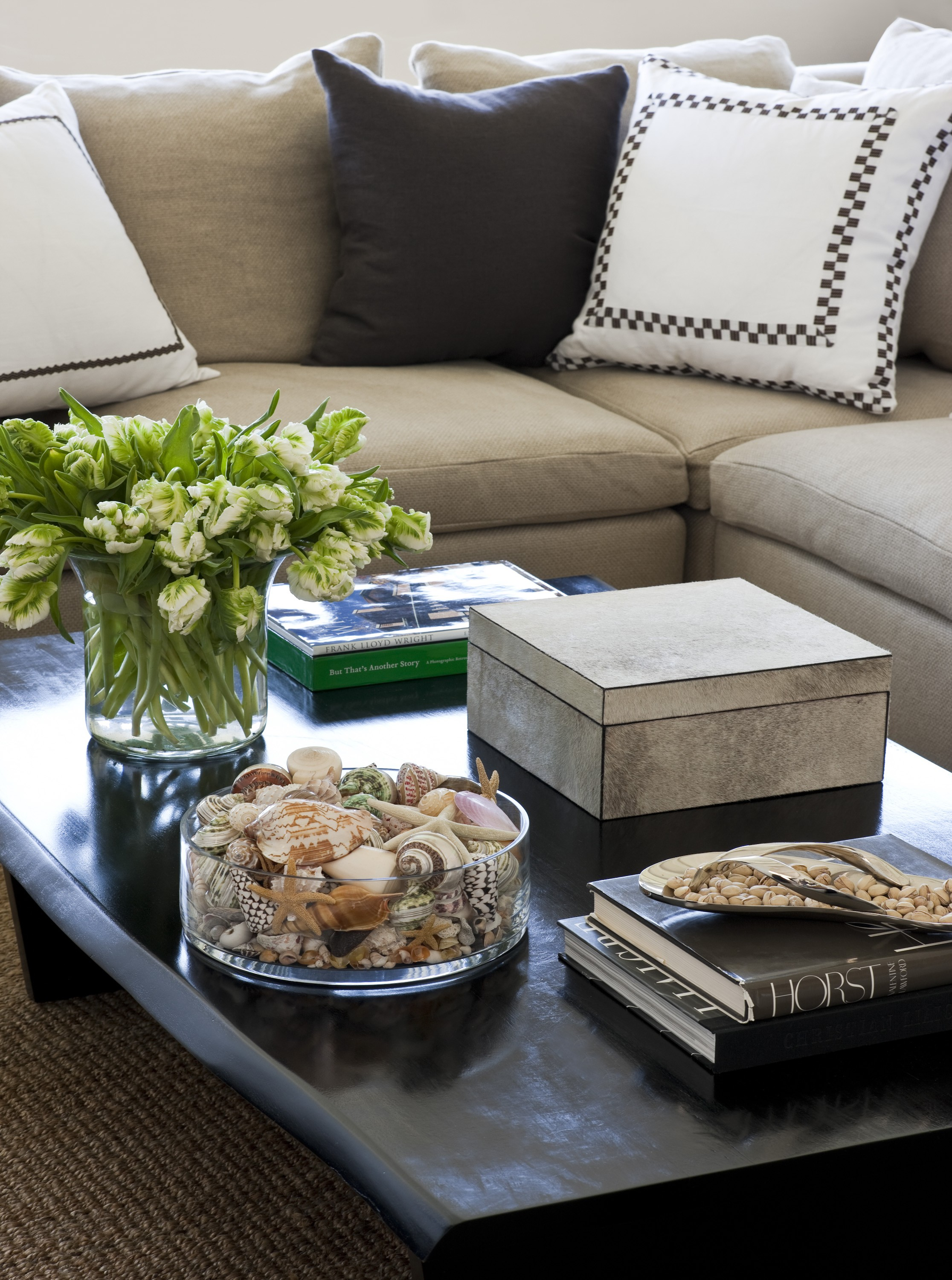 Elegant Foley U0026 Cox Interior   Coffee Table