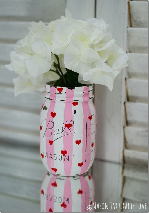 Mason Jar Crafts Love