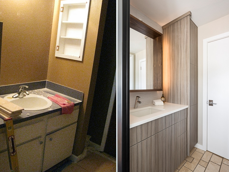 Model Remodel Bathroom