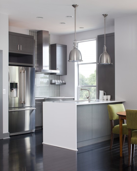 Renewal Design + Build Gray Kitchen