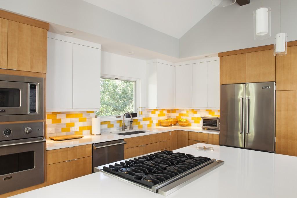 Renewal Design + Build Yellow Kitchen
